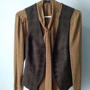 Le Chateau Wool Blend Vest (NWOT)